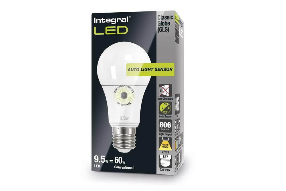 Licht Donker Sensor : Integral ledbulb w e  k automatische licht donker