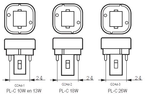Philips Master Pl C 26w 830 2p G24d 3